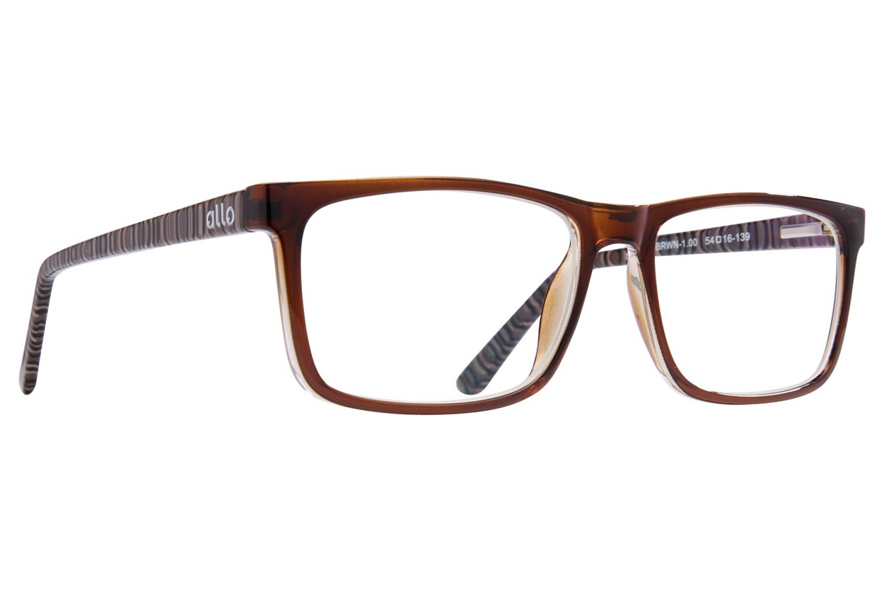 allo Shalom Reading Glasses  - Brown