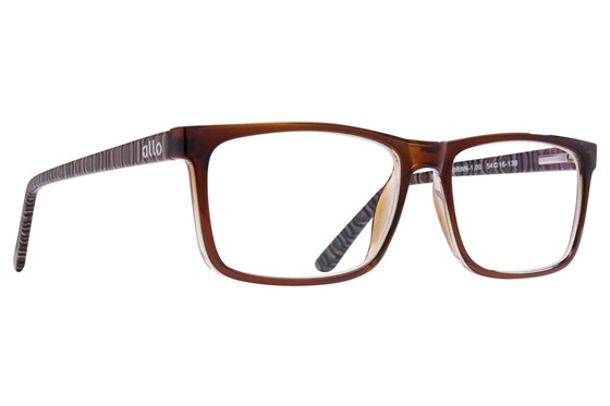allo Shalom Reading Glasses ReadingGlasses - Brown