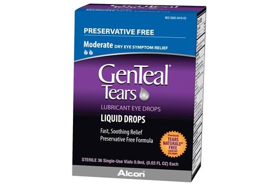 GenTeal Tears Preservative Free (36 ct.) DryRedEyeTreatments