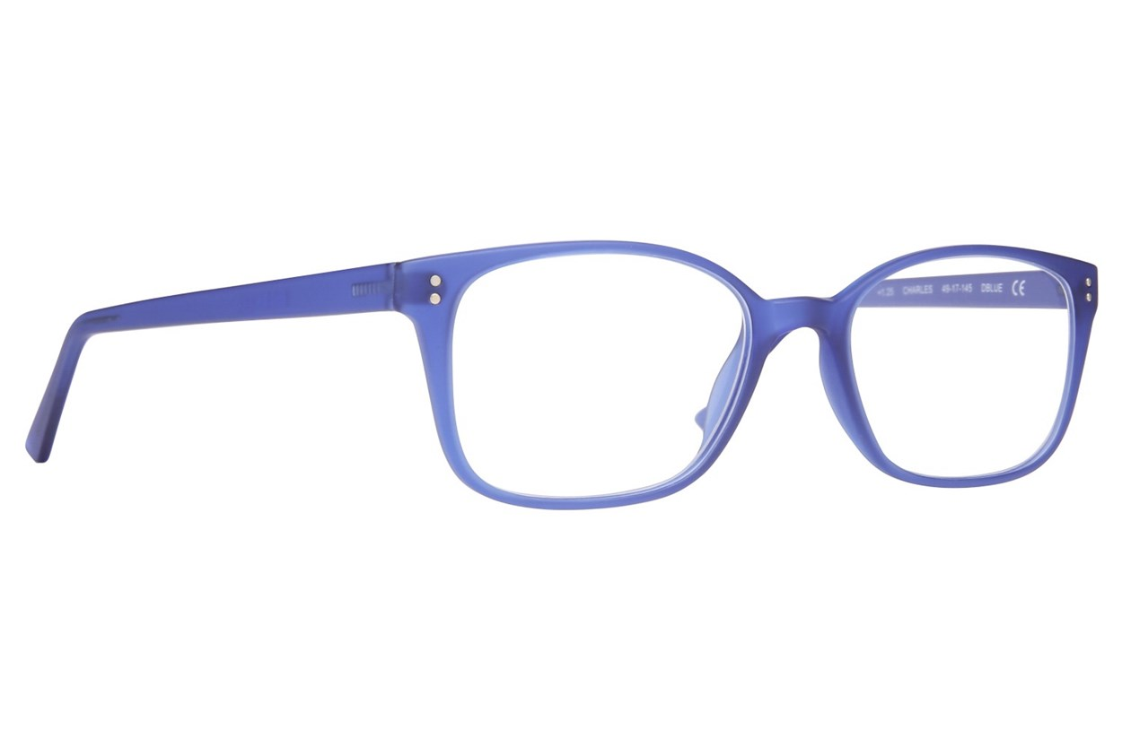 Conscious Eyez Charles Reading Glasses  - Blue