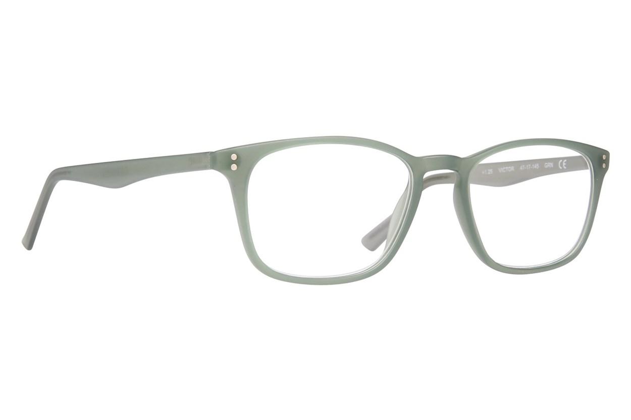 Conscious Eyez Victor Reading Glasses  - Green
