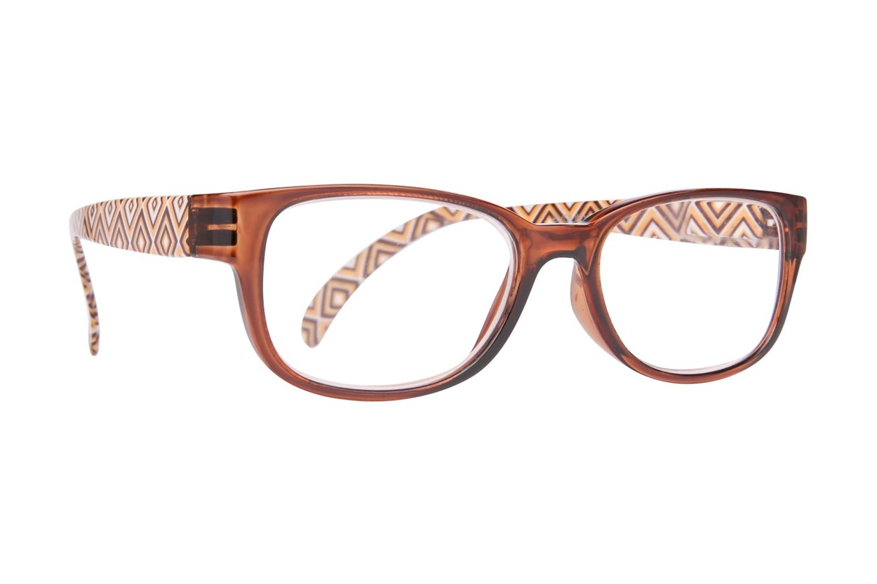 Evolutioneyes EY833Z Reading Glasses  - Brown