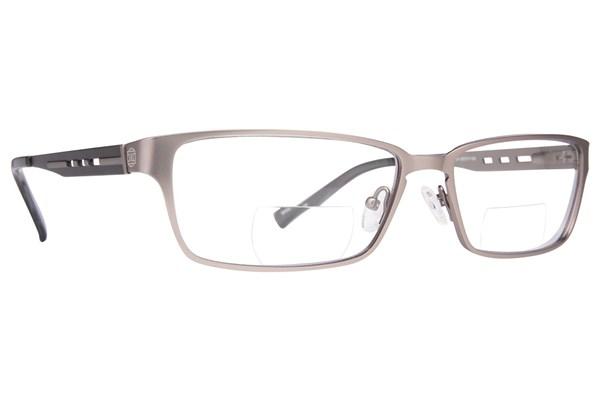 John Raymond Push Reading Glasses ReadingGlasses - Gray