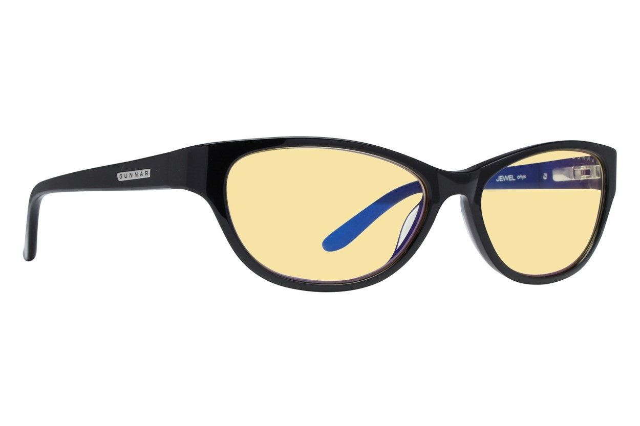 Gunnar Jewel Computer Glasses ComputerVisionAides - Black